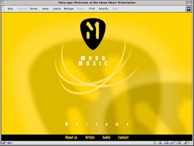 Moon Music - Website