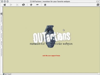 OUTactions - Website